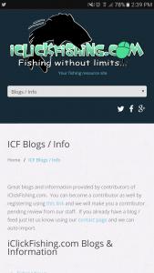 IClickFishing.com Blogs / Feeds