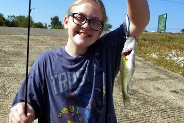Kayleas First Bass - iClickFishing.com